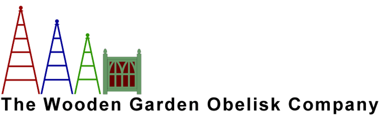 The Wooden Garden Obelisk Company